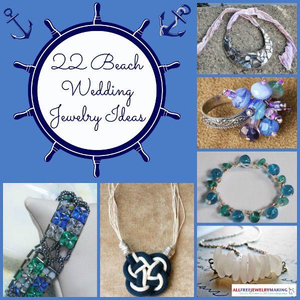 Beautiful Beach Jewelry 24 Beach Wedding Jewelry Ideas Beach