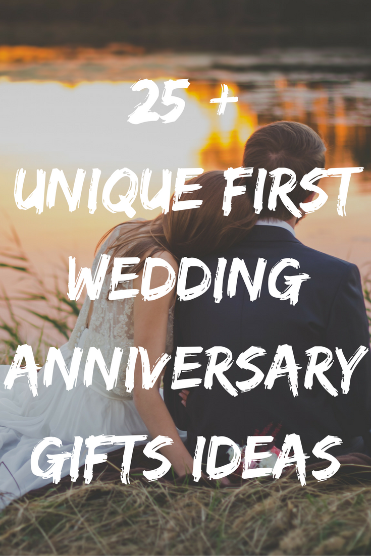 Best 1st Wedding Anniversary Gifts Ideas 40 Unique Paper Presents