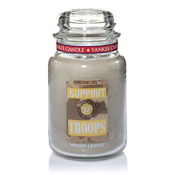Support Our Troops Hidden Leaves Large Jar Candles Yankee Candle Yankee Candle Yankee Candle Scents Candles