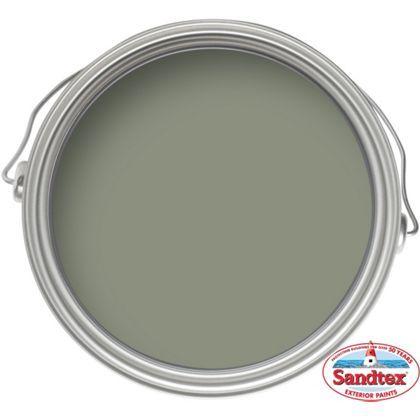 Sandtex Olive Ultra Smooth Masonry Paint 5l
