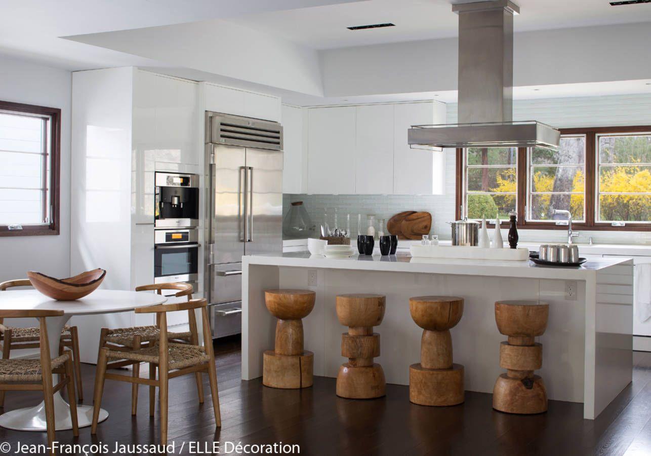 Une maison de vacances dans les Hamptons - Elle Décoration