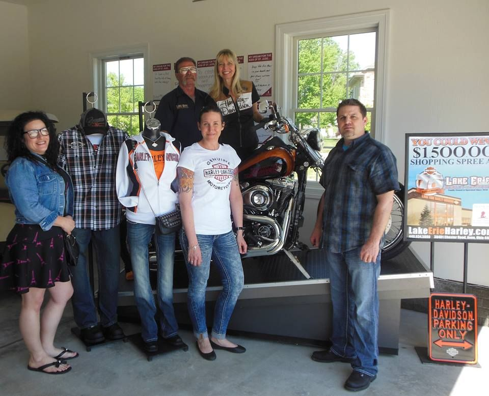 Lake Erie Harley Davidson is a proud sponsor of the St. Jude Dream