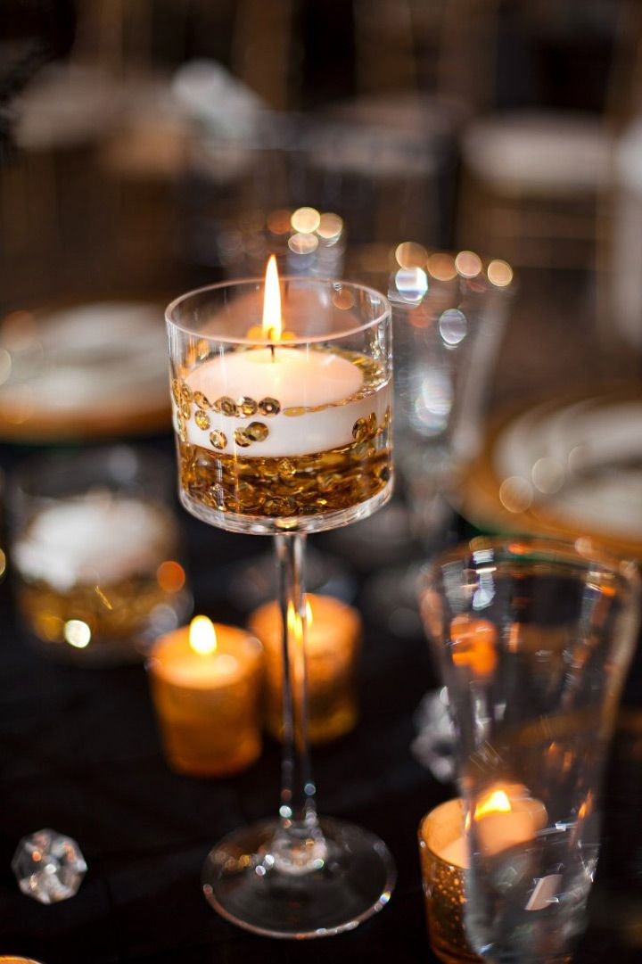 Fabulous floating candle ideas for weddings floating