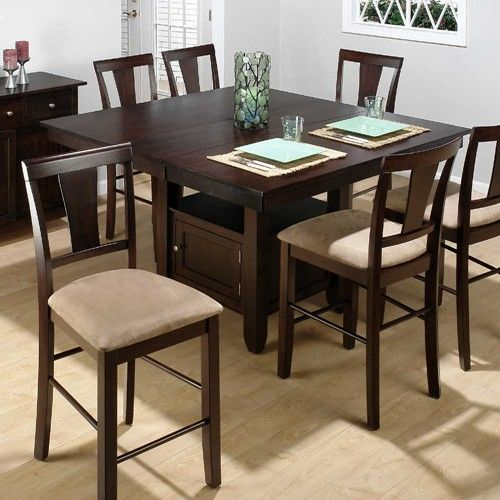 Jofran Chadwick Counter Height Table With Corner Bench And: 373 Counter Height Table By Jofran