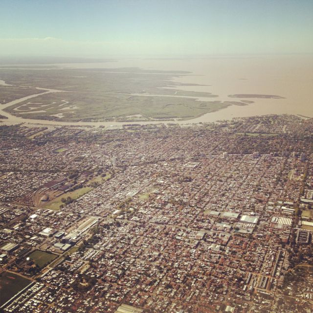 Vista aérea Buenos Aires