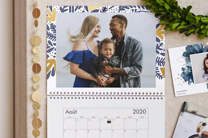 Calendrier 2021 Vistaprint Calendriers personnalisés, calendriers photo 2020 à personnaliser