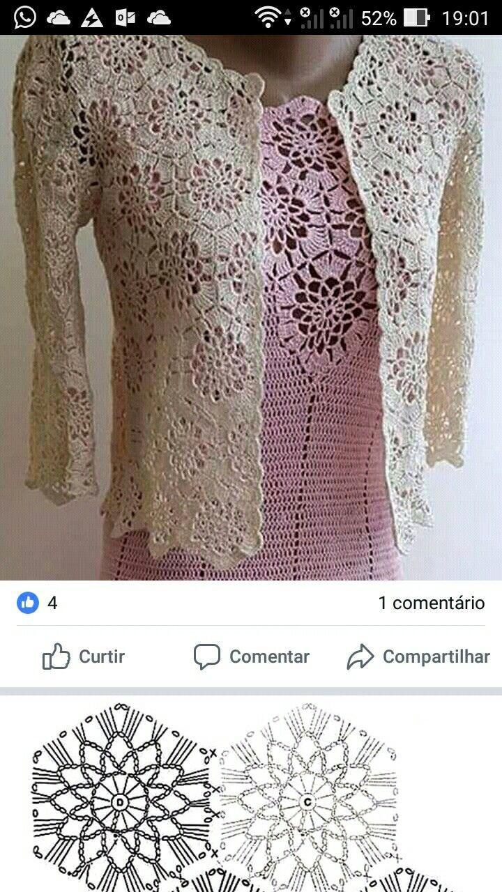 Crochet Summer Jacket Original Designe Irish Lace Beige #irishlace