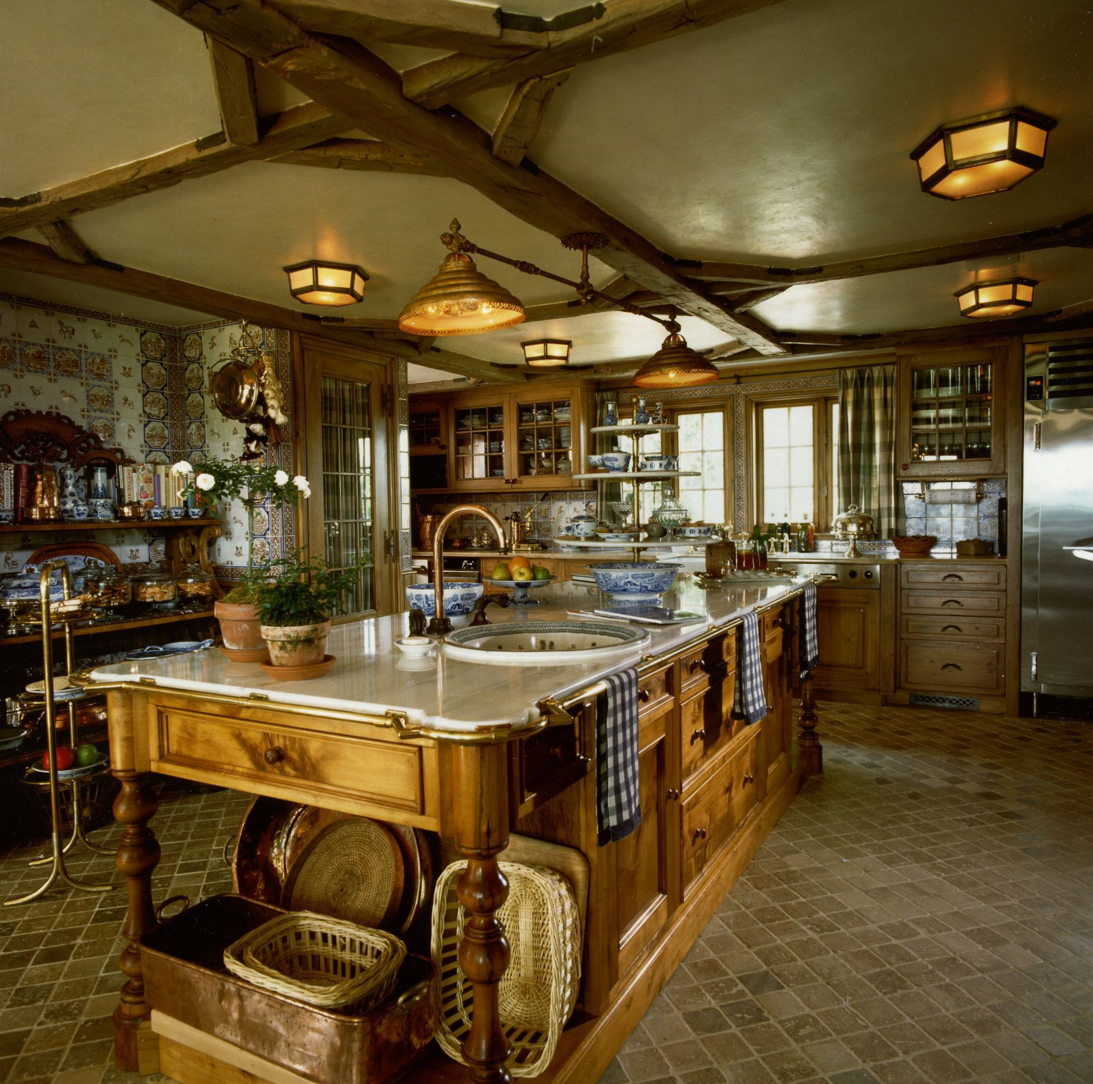 Best Kitchen In Rural New Jersey Country House Interior Design 400 x 300