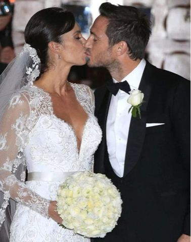 PHOTOS: Chelsea Legend Frank Lampard Weds Long Time Lover In Style