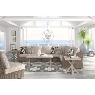 Overstock.com: Online Shopping - Bedding, Furniture ... on Beachcroft Beige Outdoor Living Room Set id=66397