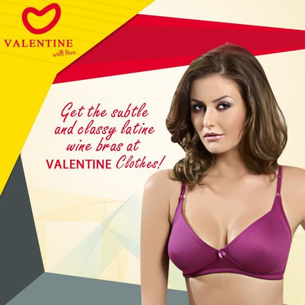 Valentine Clothes gets you bras with a difference! Get comfortable classy  and uniquely coloured bras only with us! a47f07d9f