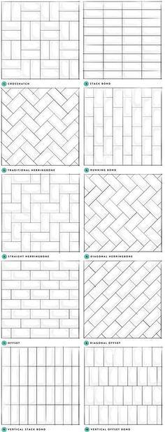 Subway Tile Designs Inspiration - A Beautiful Mess