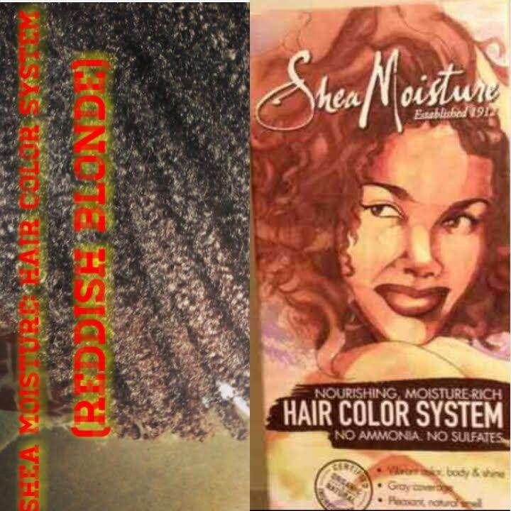 Shea Moisture Hair Color System Reddish Blonde Hair Pinterest