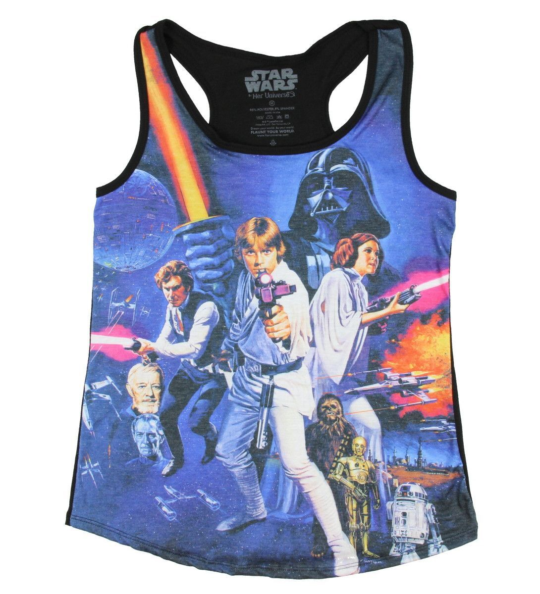 Star Wars Her Universe New Hope Girls Tank Top