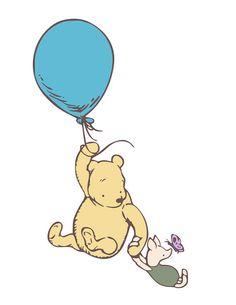 Disney Winnie The Poohblue balloons pooh bear iphone case