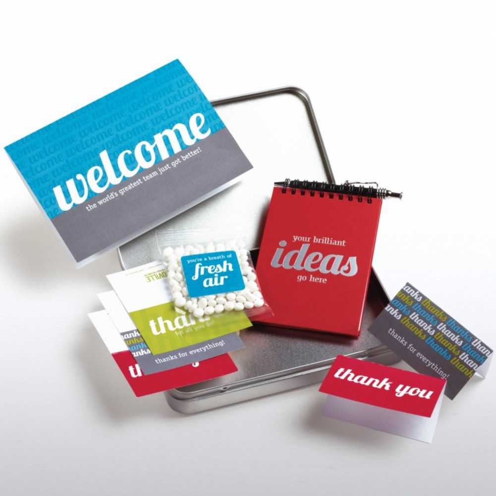 New Employee Welcome Kit | On-boarding Kits | Pinterest