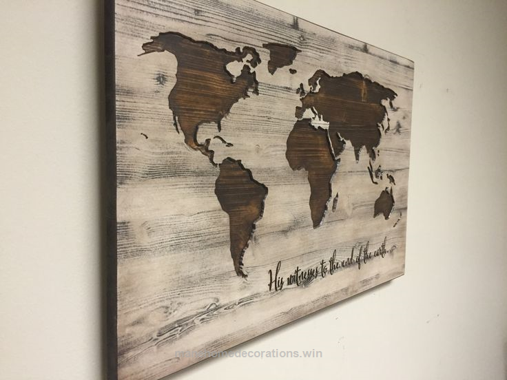 World map wall art spiritual vintage carved wood map his witness awesome world map wall art spiritual vintage carved wood map his witness to gumiabroncs Images