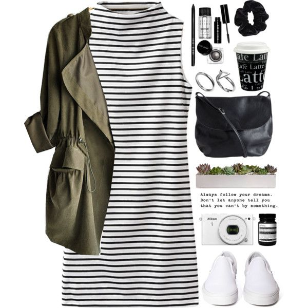 COLLEGE- read! by tania-maria on Polyvore featuring moda, Vans, Pieces, Pilgrim, American Apparel, Bobbi Brown Cosmetics, Aesop, Könitz, women's clothing and women's fashion