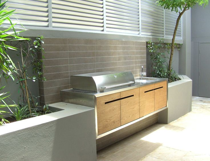 create a functional and attractive outdoor kitchen and