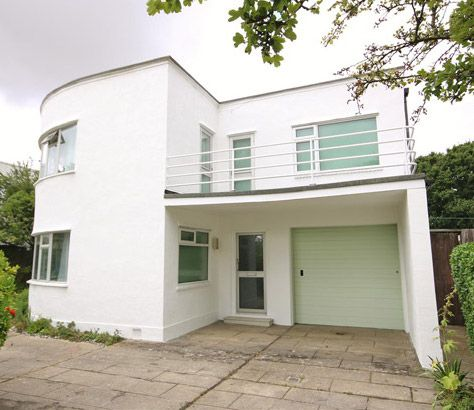 For sale  oliver hill art deco house in frinton on sea essex also rare modernist home full of history hayling island rh pinterest