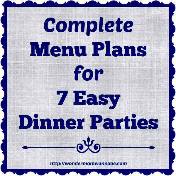 Ideas For Casual Dinner Party Part - 36: Complete Menu Plans For 7 Easy Dinner Parties The Clam Bake, Iu0027d Like