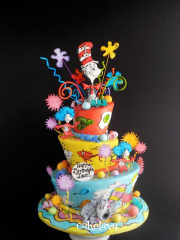 Awesome Happy Birthday Dr Seuss Heres A Cake For You Seuss Funny Birthday Cards Online Alyptdamsfinfo