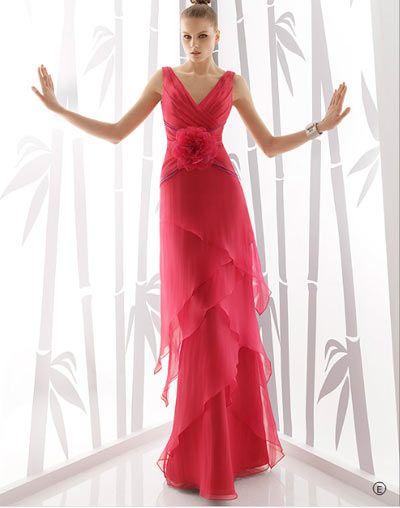 Catalogo vestidos de fiesta rosa clara