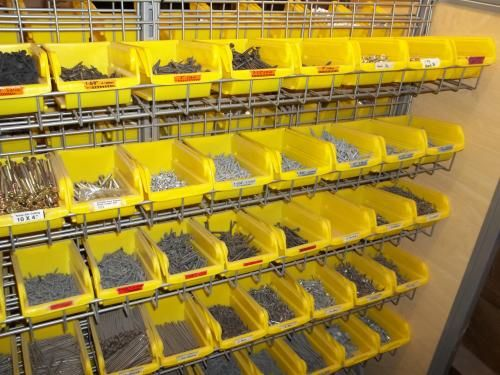 User Submitted Photo Of Stanley Storage Bins With Hangers (8 Pack)