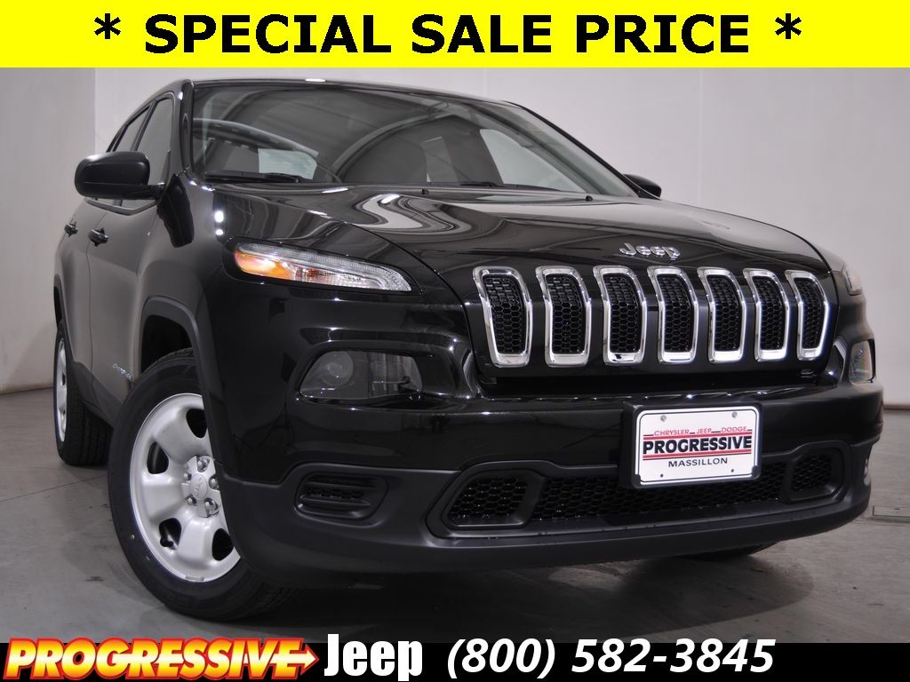 New 2016 Jeep Cherokee Sport Lease and Sales Special in