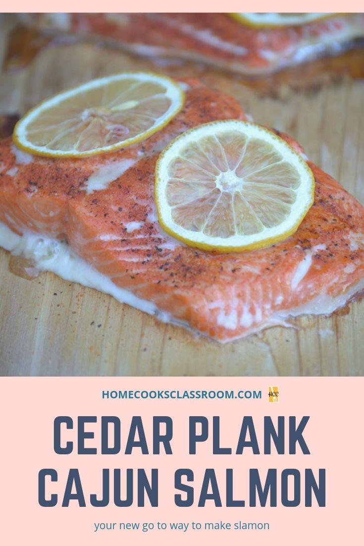 Cajun cedar plank salmon recipe cajun salmon salmon
