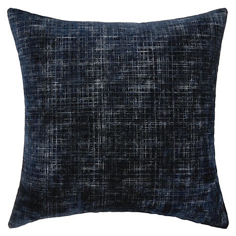 John Lewis Bordoni Cushion, Blue