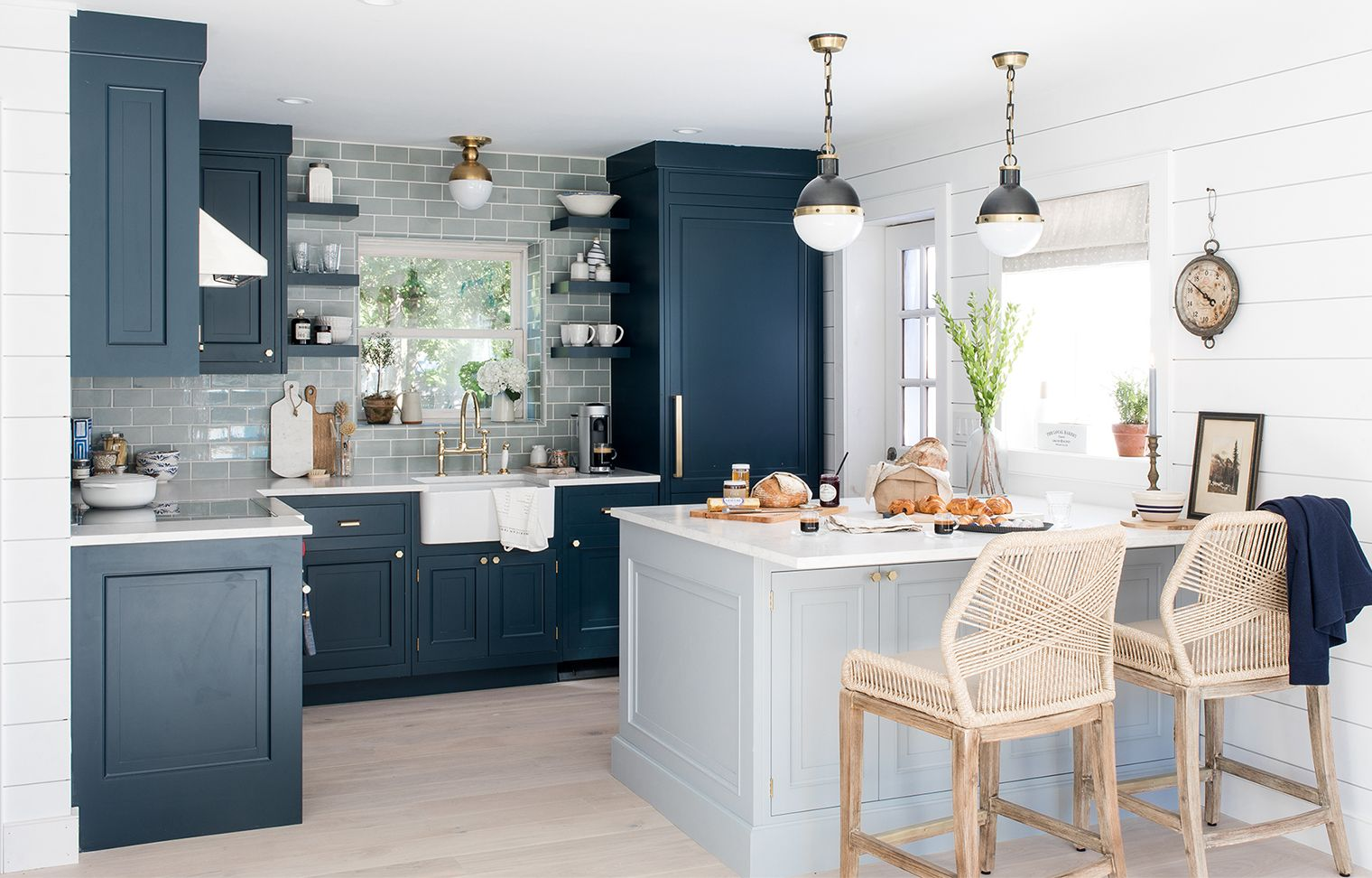 Our beach house kitchen the reveal furniture and design