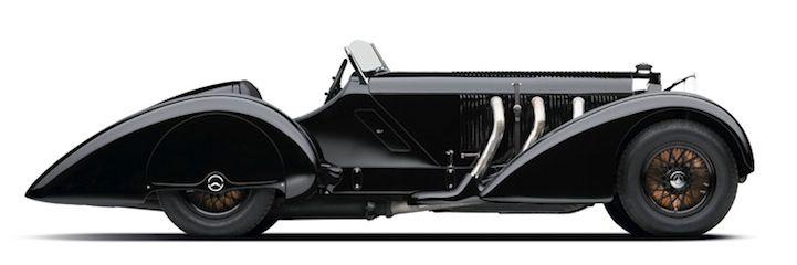 Mercedes Benz SSK Comte Trossi, 1930