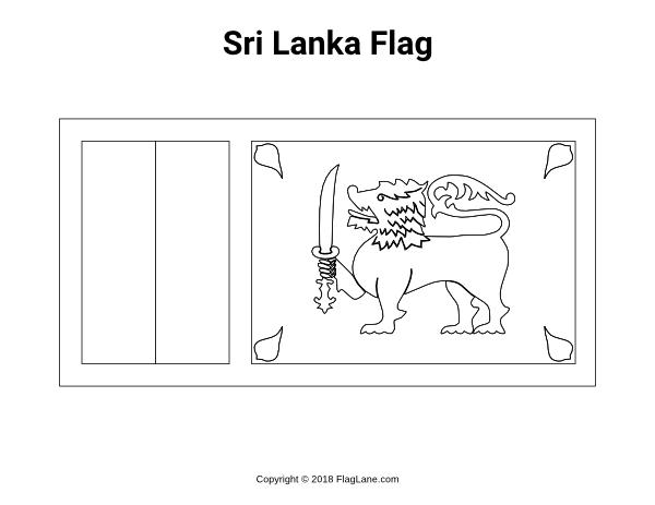 Free Printable Sri Lanka Flag Coloring Page Download It At Https Flaglane Com Coloring Page Sri Lankan Fl Sri Lanka Flag Flag Coloring Pages Sri Lankan Flag
