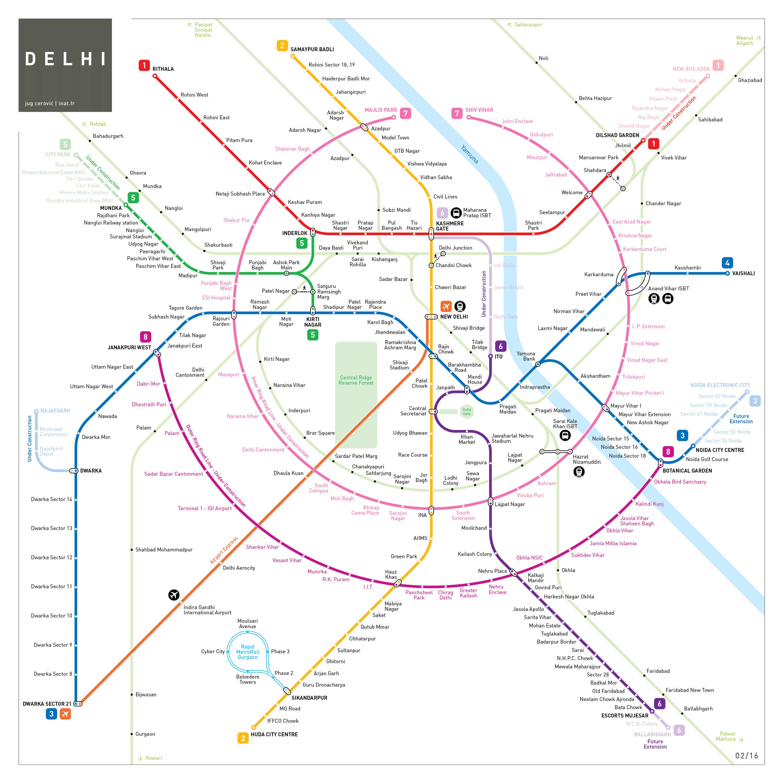 Delhi Metro Map Infographic Pinterest Delhi Metro - Argentina subway map