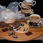 Dulces, galletas y café....