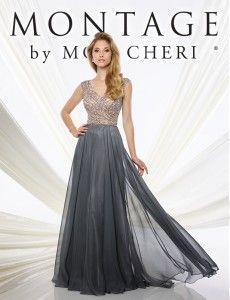 ff278696ac55f Elegantes Vestidos para la Mamá de la Novia por Mon Cheri Bridals ...