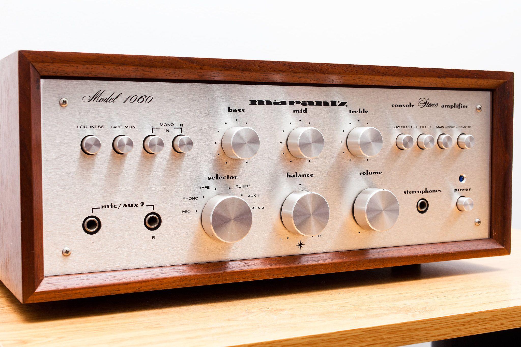 Marantz 1060 Stereo Integrated Amplifier Marantz Audio Stereo Amp