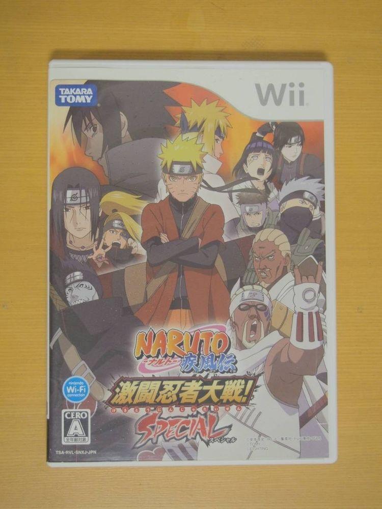 Naruto Shippuden Gekitou Ninja War Special Nintendo Wii Used Tested Ntsc J 4904810378938 Ebay Wii Naruto Shippuden Nintendo Wii