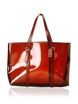 52 Off Courage B Women S Moorea Clear Tote Brown Luggage