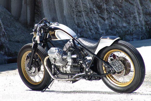 moto guzzi 850 t5 custom   moto guzzi, t5 and bobbers