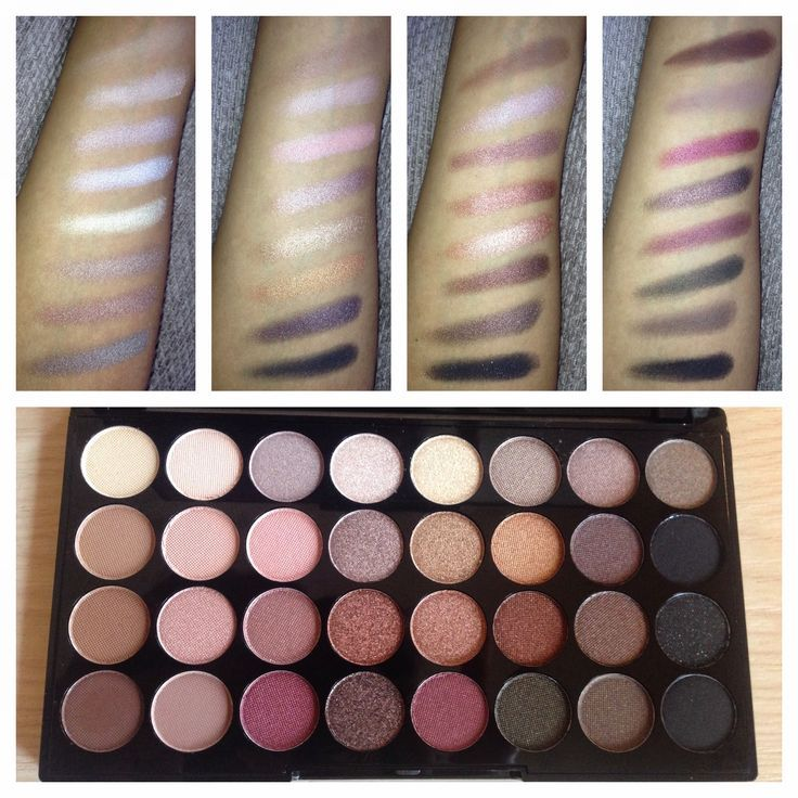Review Makeup Revolution Ultra 32 Shade Eyeshadow Palette