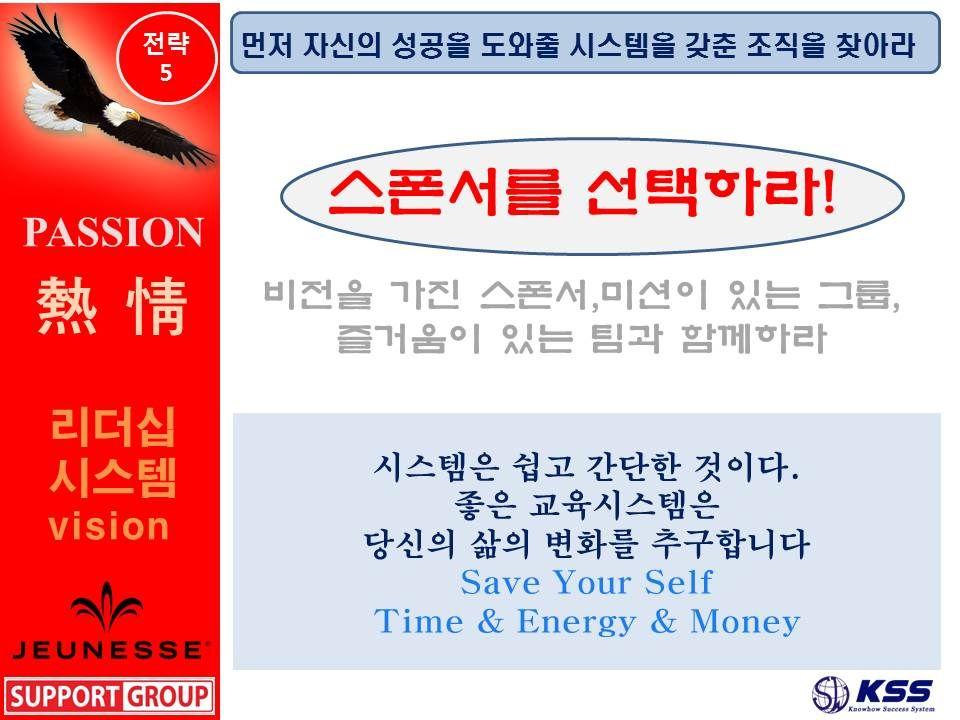 스폰서를 선택하라! JEUNESSE GLOBAL BUSINESSE STRATEGY 5P...주네스글 로벌 비즈니스 5P 전략 PPT<passion>...강사:주네스서포트그룹 멘토 김세우-Made by kim sewoo- KSS
