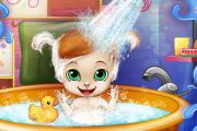 Photo of Bebek Banyo Zamanı