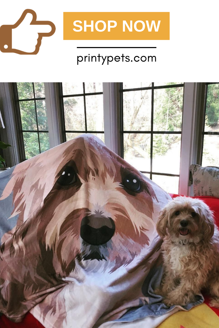 Custom Pet Print Fleece Blanket Pets Dog Fleece Print Fleece