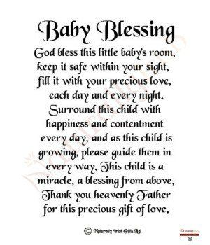 Irish Baby Blessings Quotes | Baby shower | Pinterest