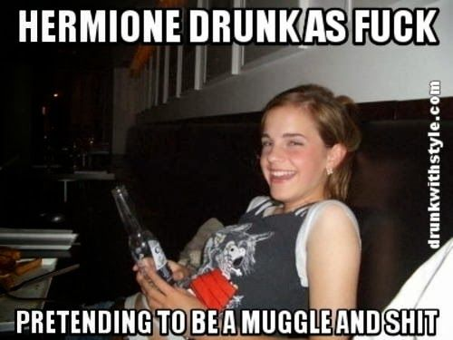 emma watson hermione funny drunk meme much funny emma