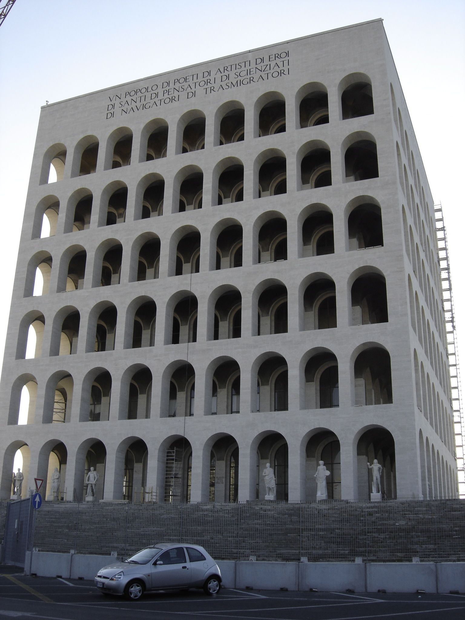 Adalberto Libera Fascist Architecture Architecture Images Ancient Roman Architecture