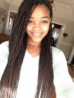 Senegalese Twists Medium Size Length Google Search Hairstyles