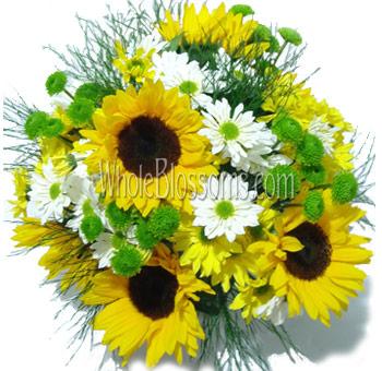 Sunflower Wedding Centerpieces Sunflower wedding